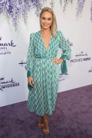 Becca Tobin at Hallmark Channel Summer TCA Party in Beverly Hills 2018/07/27 10
