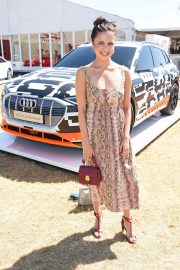 Bel Powley at Audi Polo Challenge at Coworth Park Polo Club 2018/07/01 1