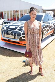 Bel Powley at Audi Polo Challenge at Coworth Park Polo Club 2018/07/01 3