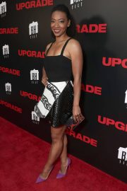 Betty Gabriel at Upgrade Premiere in Los Angeles 2018/05/30 2