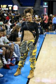 Brittany Lucio at 50k Charity Challenge Celebrity Basketball Game in Westwood 2018/07/17 1