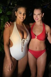 Brooke Shields and ashley graham in swimsuit for all campaign 0 3