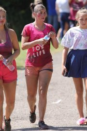 Brooke Vincent at Race for Life at Heaton Park in Manchester 2018/04/17 5