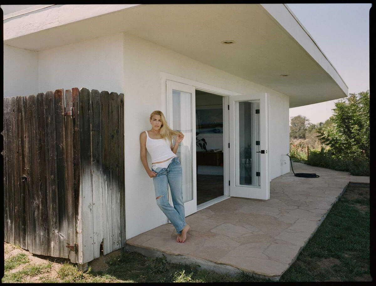Busy Philipps Poses for The Edit by net-a-porter website, July 2018 Issue 1