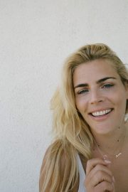 Busy Philipps Poses for The Edit by net-a-porter website, July 2018 Issue 3