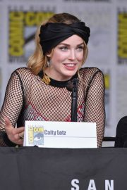 CAITY LOTZ at Legends of Tomorrow Panel at Comic-con in San Diego 2018/07/21 2