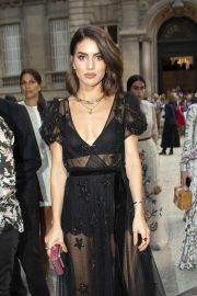 Camila Coelho at Valentino Show at 2018 Haute Couture Fashion Week in Paris 2018/07/04 11