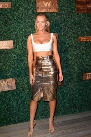 Camille Kostek at 2018 Sports Illustrated Swimsuit Show at Miami Swim Week 2018/07/15 2