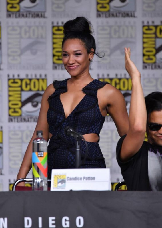"Candice Patton at ""The Flash"" Panel at Comic-Con in San Diego 2018/07/21 1"