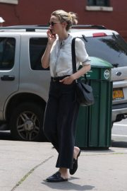 Carey Mulligan Out and About in New York 2018/07/01 10