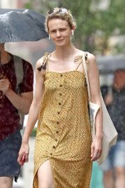 Carey Mulligan Out in New York 2018/07/17 2