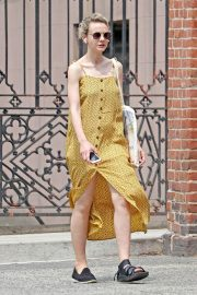 Carey Mulligan Out in New York 2018/07/17 16