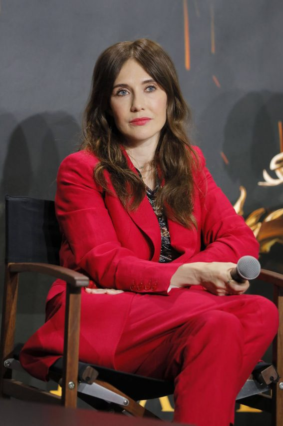 Carice van Houten at Game of Thrones Press Conference in Paris 2018/05/31 1