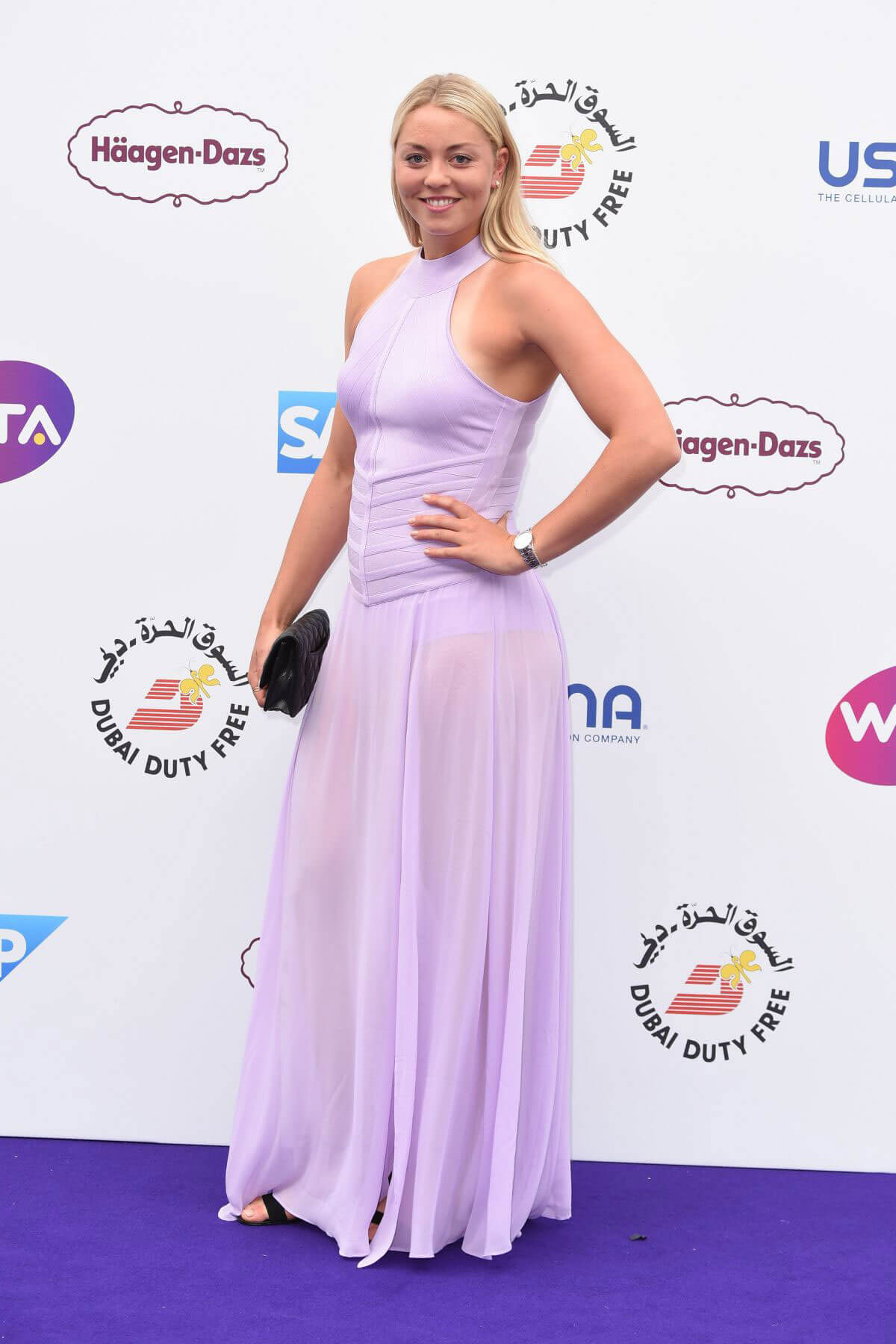Carina Witthoft at WTA Tennis on the Thames Evening Reception in London 2018/06/28 1