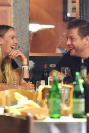Caroline Wozniacki and David Lee Out for Dinner in Portofino 2018/07/15 2