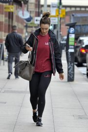 Catherine Tyldesley Leaves a Gym in Manchester 2018/07/13 4