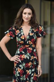 Catherine Tyldesley Out and About in Birmingham 2018/06/29 6