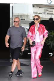 Celine Dion Arrives at Taipei Songshan Airport in Taipei 2018/07/15 2
