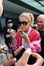Celine Dion Arrives at Taipei Songshan Airport in Taipei 2018/07/15 3