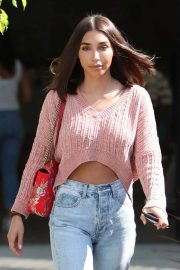 Chantel Jeffries Leaves a Salon in West Hollywood 2018/07/18 5
