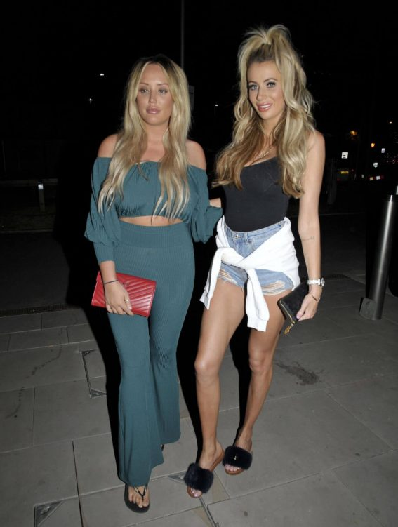 Charlotte Crosby and Olivia Attwood Night Out in Manchester 2018/07/07 1