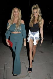Charlotte Crosby and Olivia Attwood Night Out in Manchester 2018/07/07 9