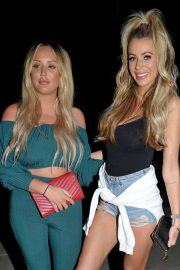 Charlotte Crosby and Olivia Attwood Night Out in Manchester 2018/07/07 13