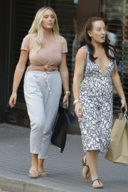 Charlotte Crosby Out and About in Barcelona 2018/07/11 2