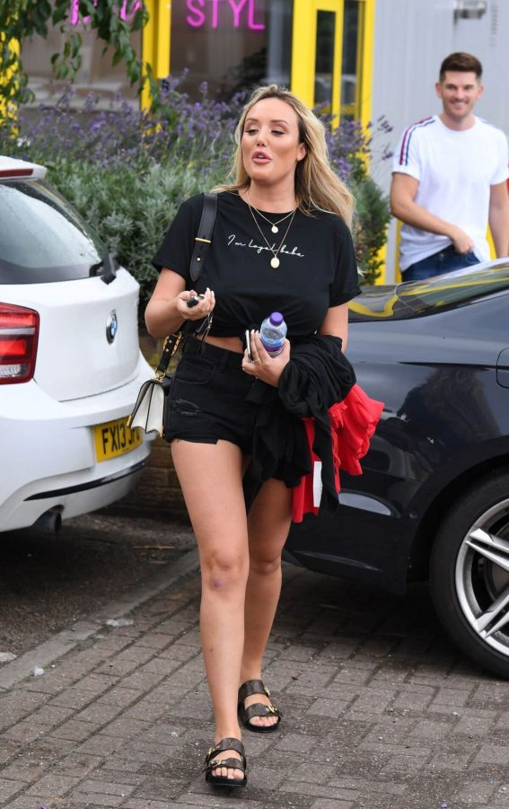 Charlotte Crosby Out and About in Manchester 2018/07/24 1