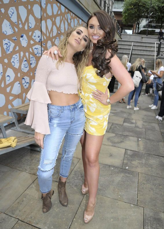 Charlotte Dawson and Georgia Harrison for Charlotte's Fashion Brand at Impossible Bar 2018/07/24 1
