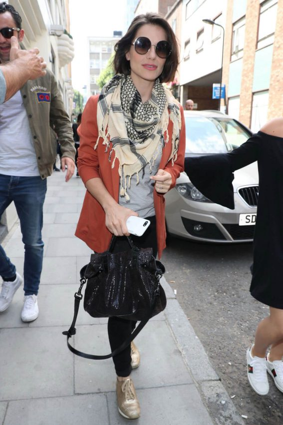 Charlotte Riley Arrives at Build Ldn in London 2018/06/28 1
