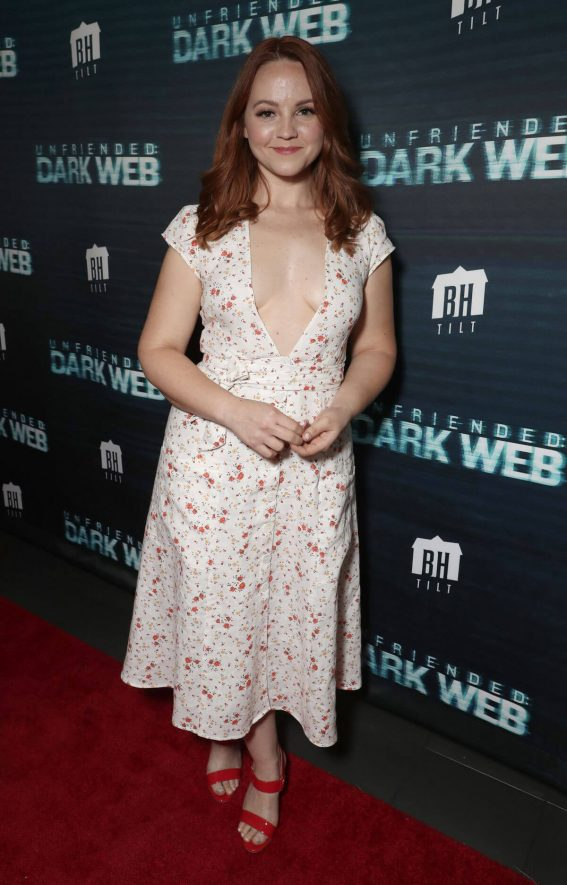 Chelsea Alden at Unfriended: Dark Web 2018 Premiere in Los Angeles 2018/07/17 1