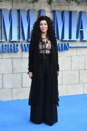 Cher at 'Mamma Mia! Here We Go Again' Premiere in London 2018/07/16 14