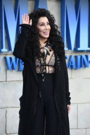 Cher at 'Mamma Mia! Here We Go Again' Premiere in London 2018/07/16 15