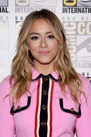 Chloe Bennet at SiriusXM Broadcasting Live from Comic-con in San Diego 2018/07/21 2