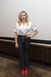 Chloe Moretz at The Miseducation of Cameron Post Press Conference in Beverly Hills 2018/07/23 9