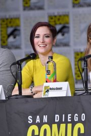 Chyler Leigh at Supergirl Panel Comic-con in San Diego 2018/07/21 5