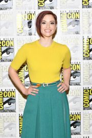 Chyler Leigh at Supergirl Panel Comic-con in San Diego 2018/07/21 10