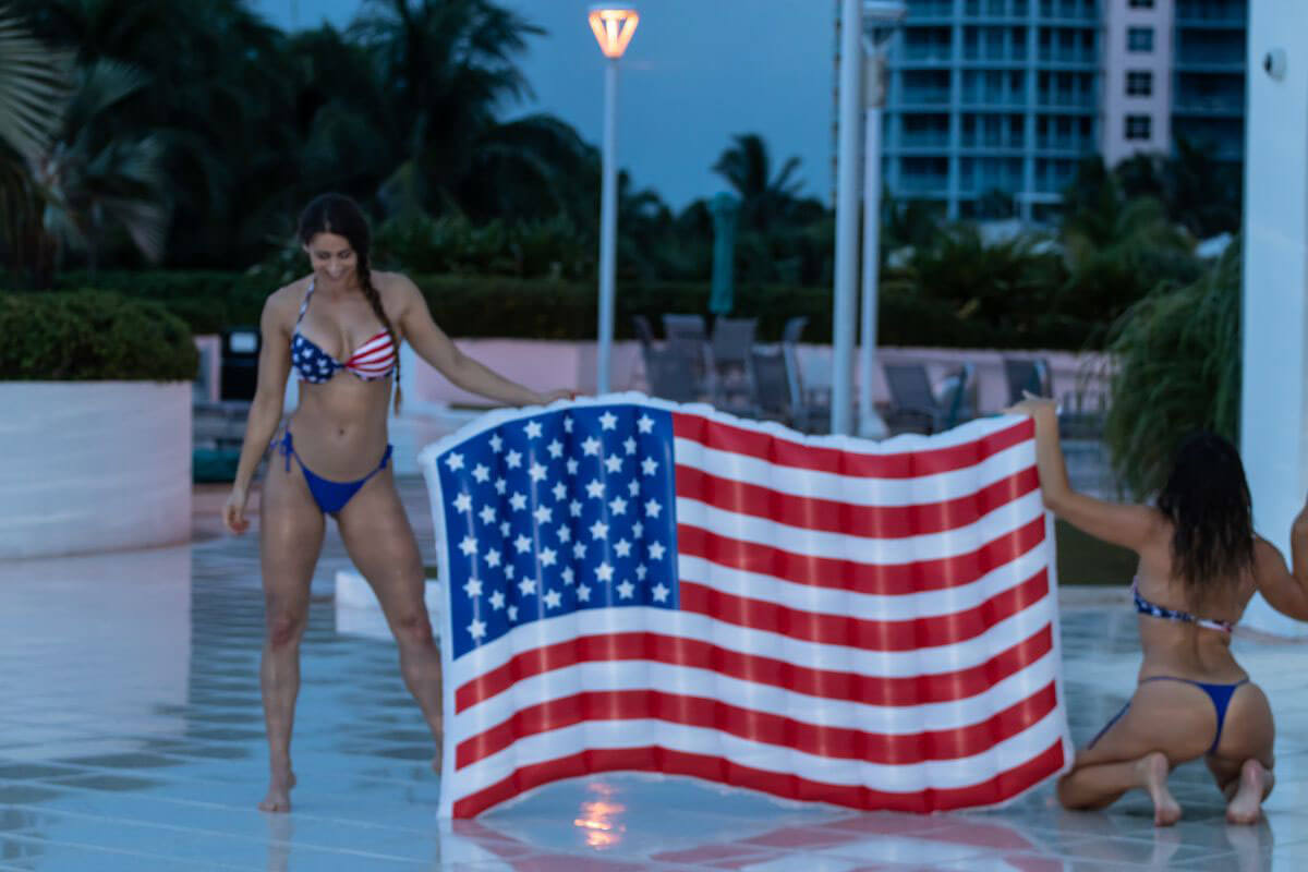 Claudia Romani and Anais Zanotti Celebrate 4th of July in Miami 2018/07/04 1
