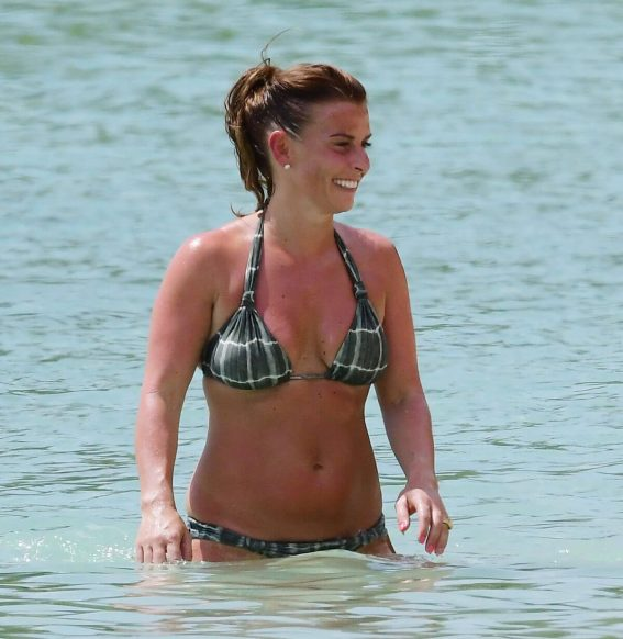 Coleen Rooney in Bikini at a Beach in Barbados 2018/05/20 1