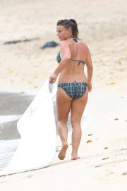 Coleen Rooney in Bikini at a Beach in Barbados 2018/05/20 11
