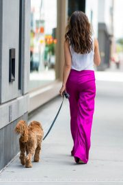 Danielle Campbell Out with her Dog in New York 2018/06/19 2