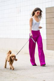 Danielle Campbell Out with her Dog in New York 2018/06/19 3
