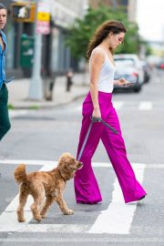 Danielle Campbell Out with her Dog in New York 2018/06/19 4