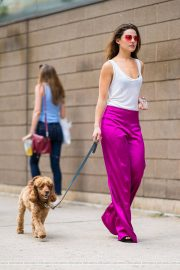Danielle Campbell Out with her Dog in New York 2018/06/19 8