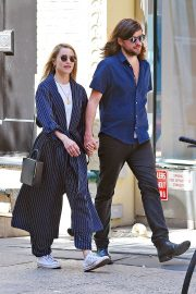 Dianna Agron and Winston Marshall Out in New York 2018/05/23 2