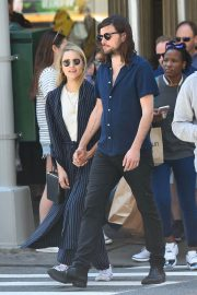 Dianna Agron and Winston Marshall Out in New York 2018/05/23 7
