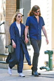 Dianna Agron and Winston Marshall Out in New York 2018/05/23 8