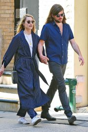 Dianna Agron and Winston Marshall Out in New York 2018/05/23 9