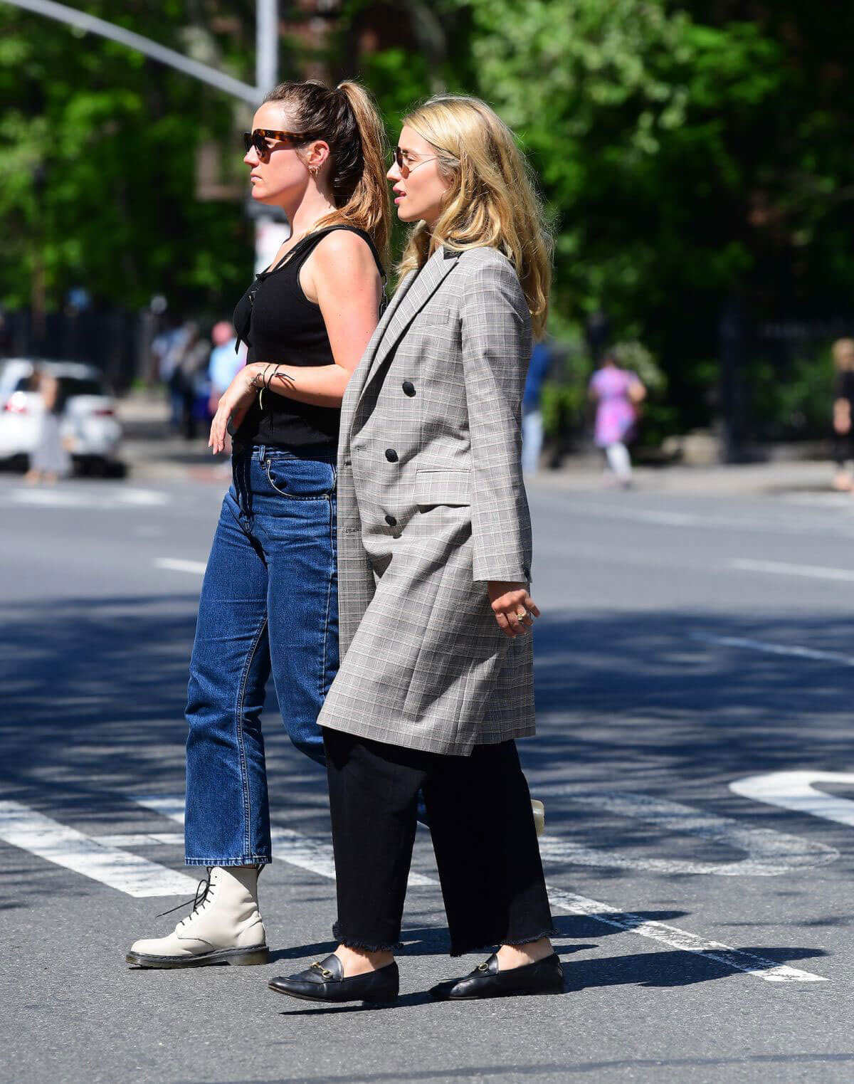 Dianna Agron Out for Lunch in New York 2018/05/20 1